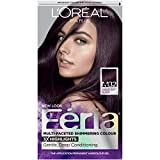 soft black hair color - L'Oréal Paris Feria Permanent Hair Color, M32 Midnight Star (Violet Soft Black)