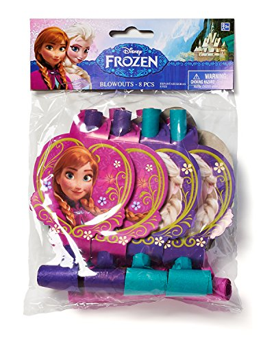American Greetings Frozen Party Blowers, 8-Count