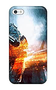 hudson kim's Shop Hot Tpu Cover Case For Iphone/ 5/5s Case Cover Skin - Battlefield 4 Dragon's Teeth 5360976K12744954