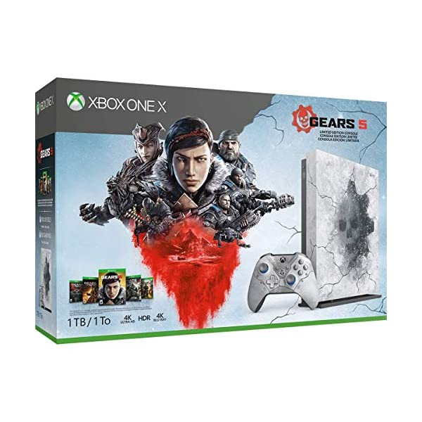 Xbox One X 1Tb Console - Gears 5 Limited Edition Bundle [DISCONTINUED] 2