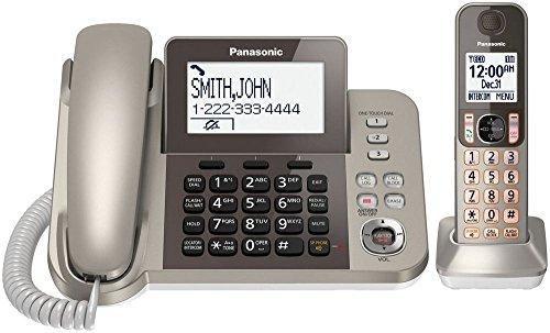 Panasonic KXTGF350N Dect 1-Handset Landline Telephone (Certified - Home And Cordless Phone Corded