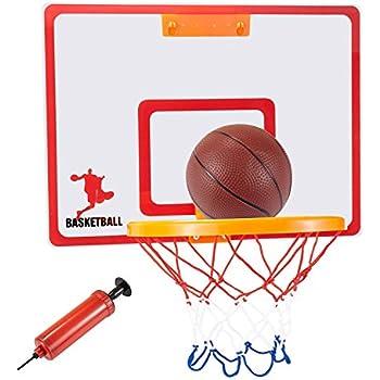 door mounted basketball hoop