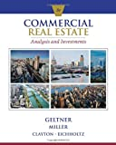 Commercial Real Estate Analysis and Investments (w/CD)