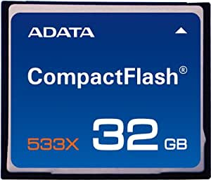 ADATA Turbo 533X 32 GB CompactFlash Memory Card ACF32G533XR