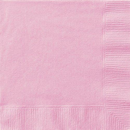 Light Pink Paper Napkins, 20ct