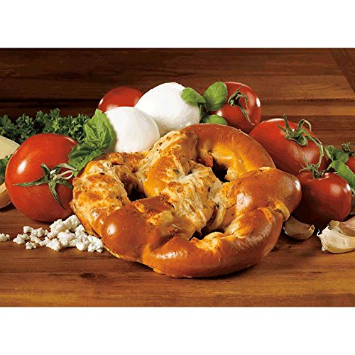 Kim and Scotts Pizza Stuffed Pretzels, 6 Ounce -- 24 per case. by J and J Snack Foods