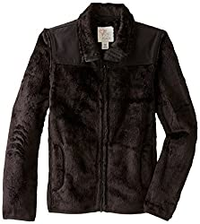The Children's Place Little Girls' Solid Favorite Jacket, Black, X-Small/4