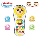 BIYASO Gift for 1-2 Year Old Girls, Remote Control Toys 2 Year Old Baby Boy Kids Toys 3-12 Months Boys Gift for 9-18 Months BabyToddler Toy Age 1 2 3 Boys Birthday Gift for Girl