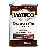 RUST-OLEUM 65341 Watco Quart  Black Walnut Danish Oil Finish
