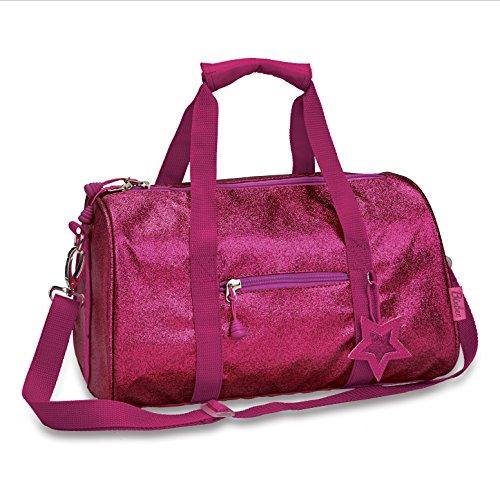 Bixbee Duffle Bag, Ruby Raspberry, Medium