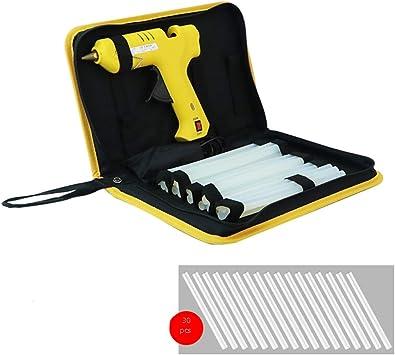 CHenXin- Hot Melt pegamento pistola, pistola de 60W, caja de ...