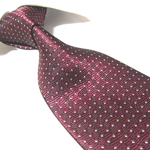 Towergem Extra Long Fashion Tie Men's Woven Jacquard Handmade XL Necktie