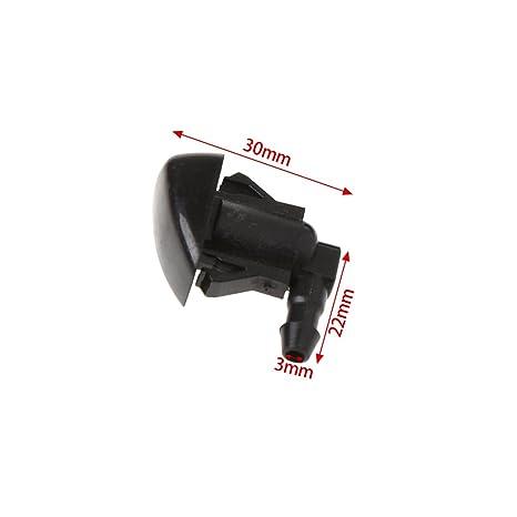 2 boquillas para limpiaparabrisas para Toyota E120 Corolla Camry XV30: Amazon.es: Hogar