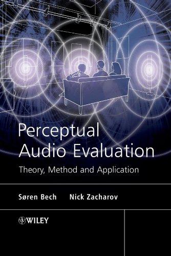 Perceptual Audio Evaluation - Theory, Method and Application