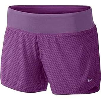 "NIKE Women's Dri Fit 4"" Rival Running Short, Purple, X-Small, 630900 519"