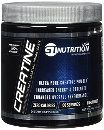 GT Nutrition USA Creatine Powder, 300 Gram