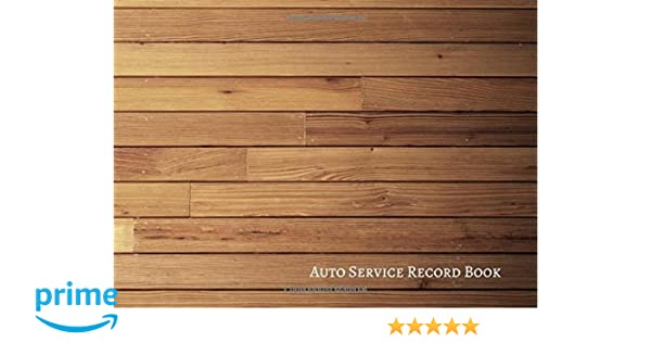 auto service record book vehicle maintenance log journals for all