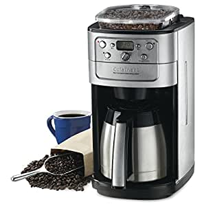 Cuisinart DGB-900BCC Fully Automatic Burr Grind & Brew ThermalTM 12 Cup Coffeemaker