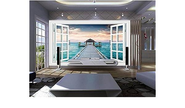 Malilove 3d wallpaper mural personalizado no tejidas pegatinas de ...