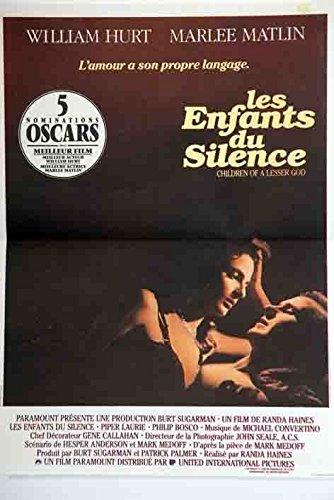 Los niños del Silencio-1986-Randa Haines, 40 x 56 cm Cartel ...
