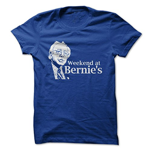 Weekend at Bernie's-T-Shirt/Royal Blue/S - Made On Demand in USA