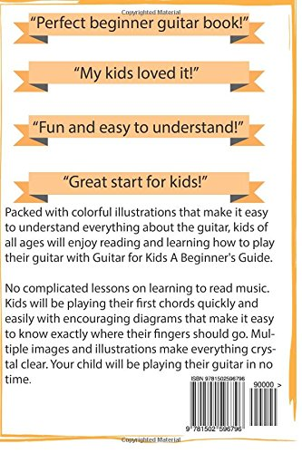 Amazon Guitar For Kids A Beginners Guide 9781502596796