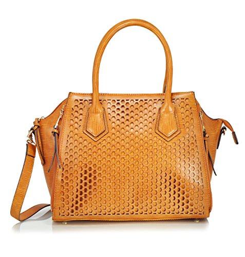 sr-squared-by-sondra-roberts-perforated-nappa-satchel-camel