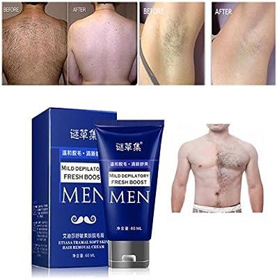 Amazon Com Botrong Man S Permanent Body Hair Removal Cream Hand Leg