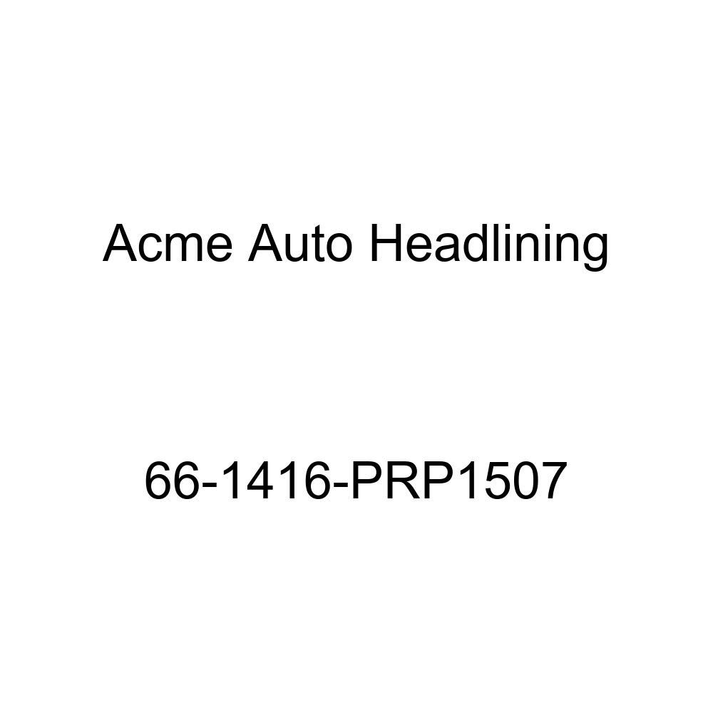 Acme Auto Headlining 66-1416-PRP1507 Red Replacement Headliner Chevrolet Caprice 4 Door Hardtop 5 Bow