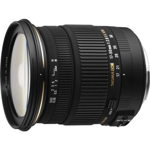Sigma 17-50mm f/2.8 EX DC OS HSM FLD Large Aperture Standard