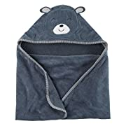Carter's Baby Boys' Bear Towel Blue One Size