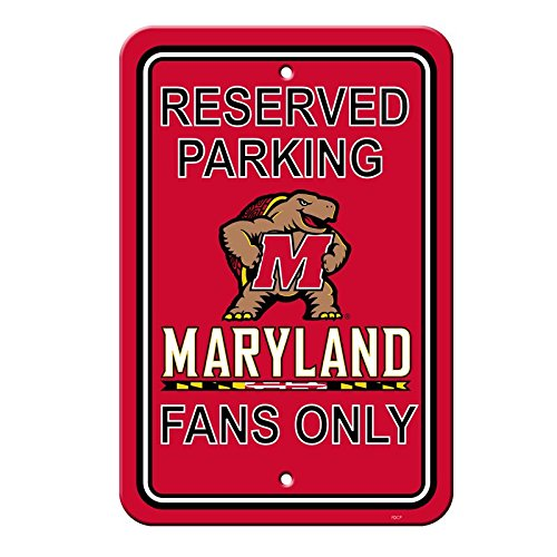 Maryland Terrapins Light - Official National Collegiate Athletic Association Fan Shop Authentic NCAA Parking Sign (Maryland Terrapins)