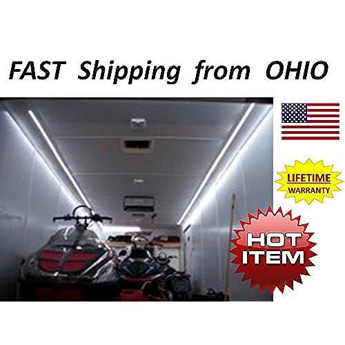 Race Car Toy Hauler Enclosed Trailer Super Bright Lightimg Kit Led Light 15ft Fancy 1 Best Christmas Gift: Race Trailer Wiring Diagram At Shintaries.co