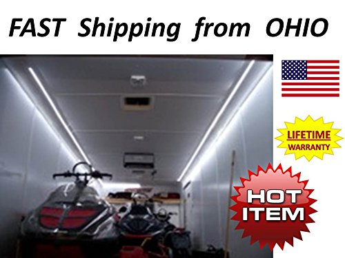 Race Car / Toy Hauler / Enclosed Trailer SUPER BRIGHT lightimg kit -- LED light kit - 15ft -- Fancy #1 Best Christmas - Trailer Hauler Enclosed Car