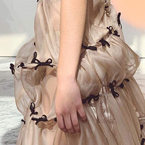 ZENWEN Women's Dress Female 2019 New Very Fairy Butterfly Suspender Skirt Long Skirt Fashion Bottom Skirt