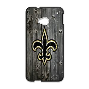 DIY Printed New Orleans Saints hard plastic case skin cover For HTC One M7 SNQ592285
