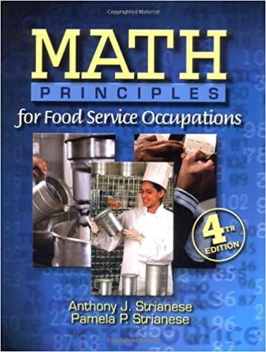 Book Math Principles for Food Service