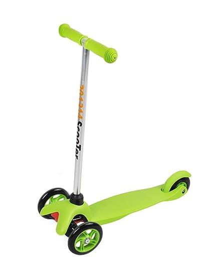 Triciclo patinete verde infantil Tri - Scooter patinete ...
