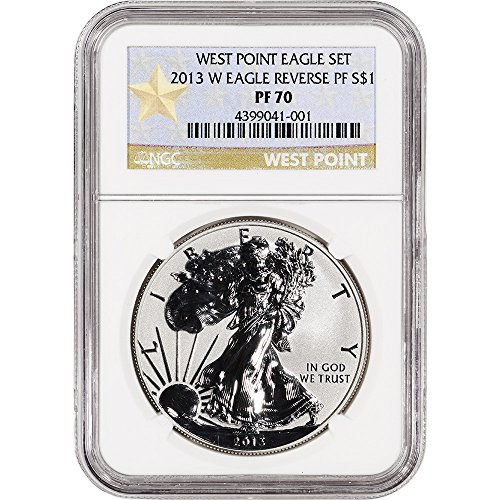 2013-w-american-silver-eagle-reverse-proof-1-oz-west-point-star-label-1-pf70-ngc