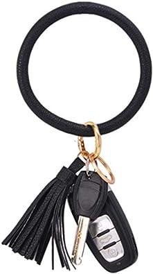 Women Key Chain Holder Keyring Car Keychain Leather Tassel Pendant Bag Charm Hot