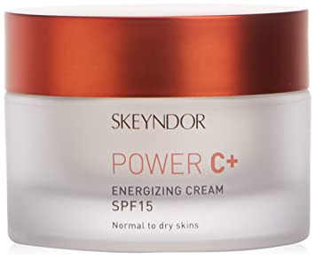 Skeyndor - Power C+ Crema Energizante SPF15 Piel Normal a Seca, 50 ml: Amazon.es: Belleza