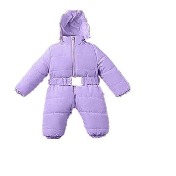 Amazon.com: Chaqueta de invierno con capucha para bebé, bebé ...