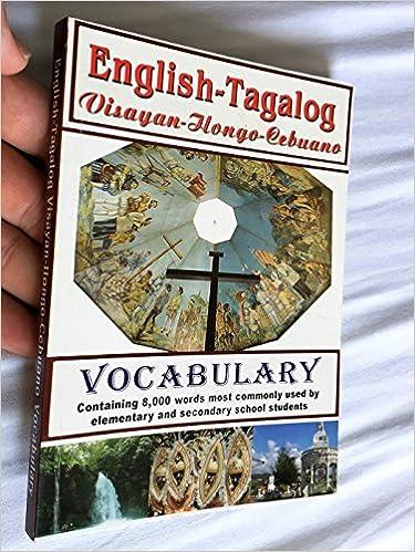 English-Tagalog Visayan Dictionary -- Philippine Books