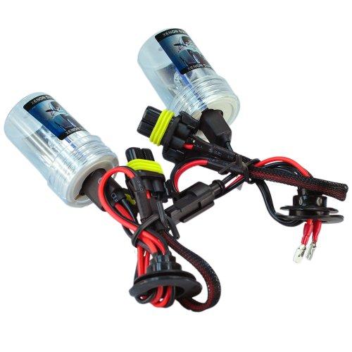 (HOTSYSTEM H3 8000K HID Xenon Replacement Light Bulbs - 1 Pair)