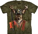 The Mountain Hunter Buck Adult T-shirt 3XL - Best Reviews Guide