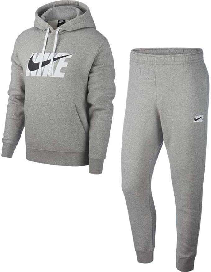 Nike Track HD Fleece GX - Chándal, Hombre, Color Gris, tamaño XL ...
