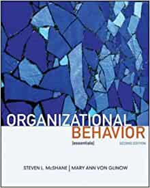 organizational behavior mcshane von glinow Organizational behavior: emerging realities for the workplace revolution by mary ann von glinow and steven lattimore mcshane and mary von glinow available in hardcover on powellscom, also read sysnopin their new fourth edition, mcshane and von glinow continue the trailblazing innovations that made.