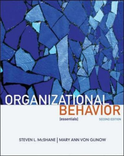 Organizational Behavior:Essentials