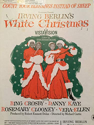(Count Your Blessings Instead of Sheep (From Irving Berlin's White Christmas))
