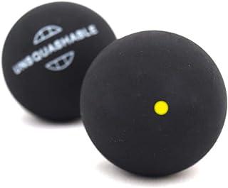 Unsquashable Balles de squash paquet de 2 Jaune